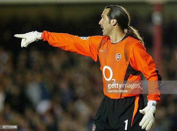 LEAGUE 02/03 London FC ARSENAL LONDON BORUSSIA DORTMUND 20 TORWART David SEAMAN/ARSENAL