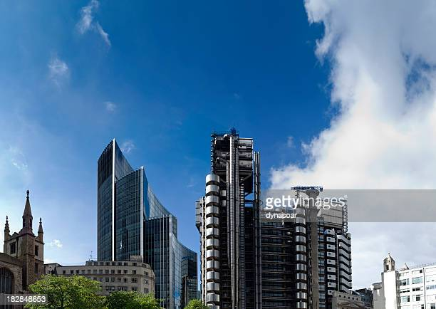 London Financial skyscrapers