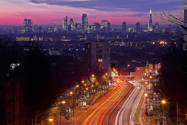 London From The Hornsey Lane Bridge Wall Art