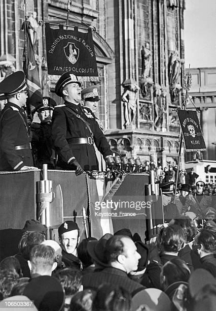 London Galeazzo Ciano Italian Minister Of Foreign Affairs On May 28Th 1940