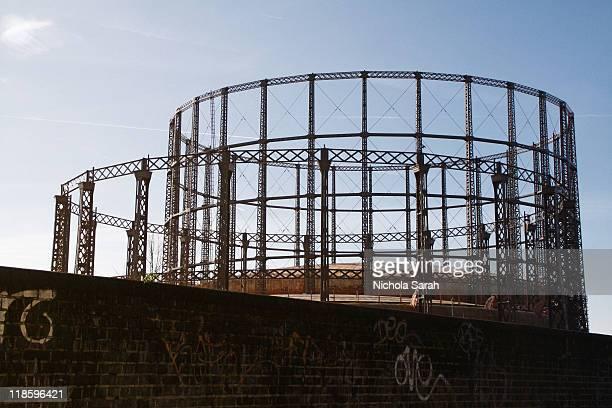 London gasometers
