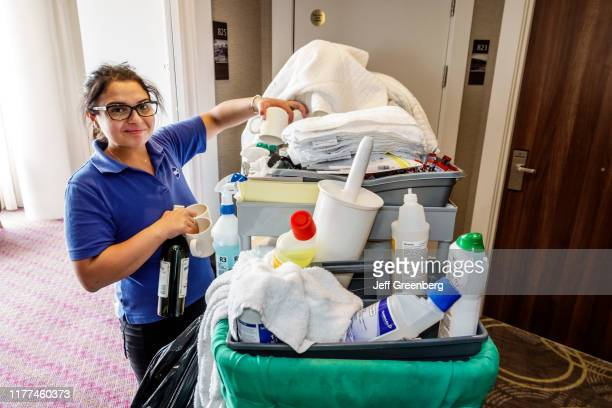 London Hampton Hilton Waterloo hotel housekeeping