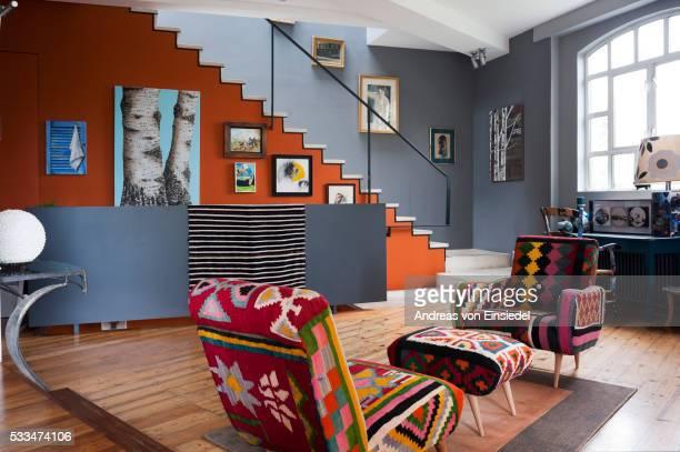 London home of artist Nicky Barthorpe