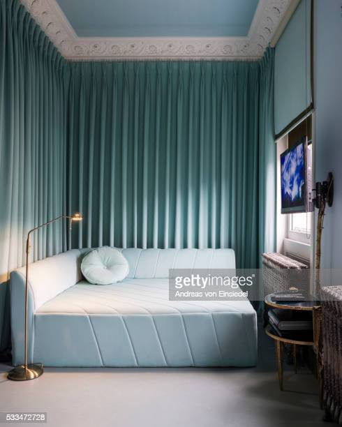 Sofa bed stock photos and pictures getty images for Designer furniture london