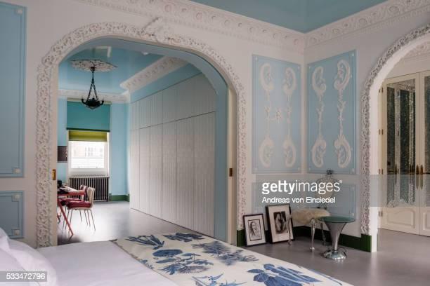 London home of furniture designer Danielle Moudaber