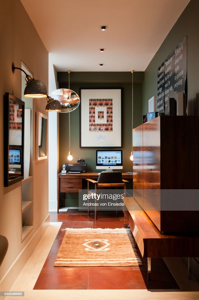 London Home Of Interior Designer Sule Arinc Stock Photo Getty Images