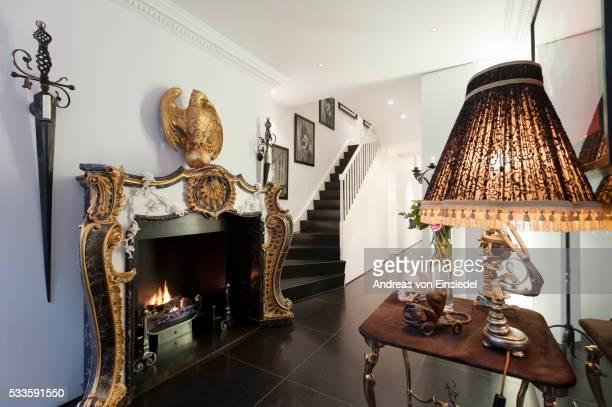 London house of Amanda Eliasch