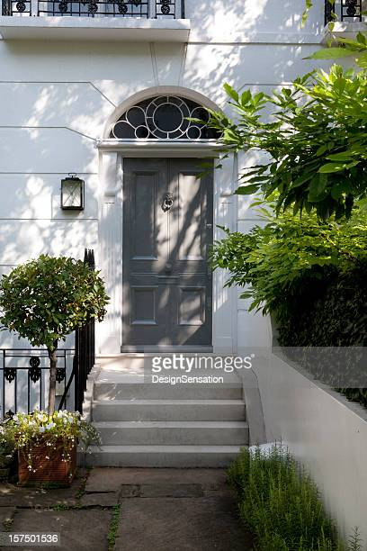 london house - kensington and chelsea stock pictures, royalty-free photos & images