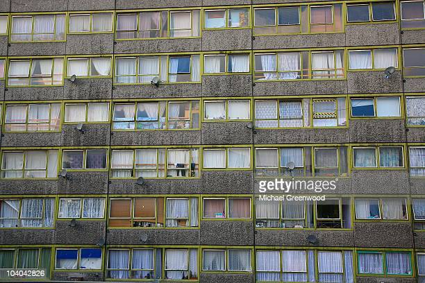 London housing slum