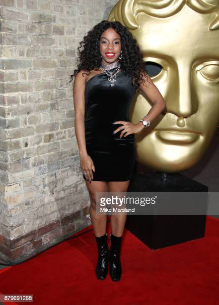 London Hughes attends the BAFTA Children's awards at The Roundhouse on November 26 2017 in London England