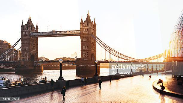 London Icon at sunrise