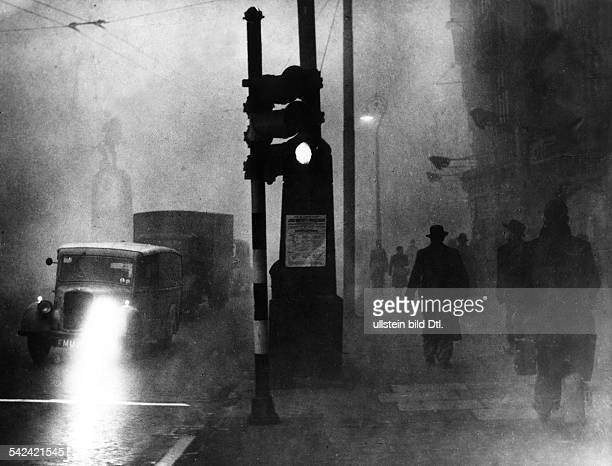 London im Smog- November 1958