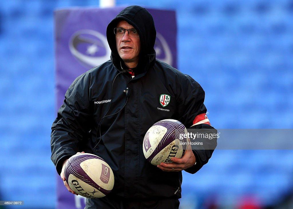 London Irish  v  Cardiff Blues - European Rugby Challenge Cup : News Photo
