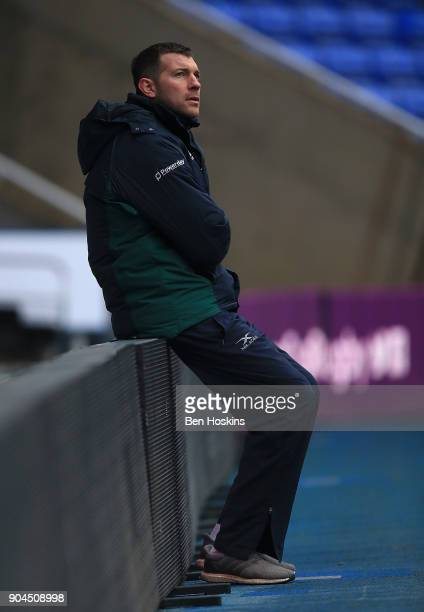 London Irish Director of Rugby Nick Kennedy looks on ahead of the European Rugby Challenge Cup between London Irish and Krasny Yar on January 13 2018...