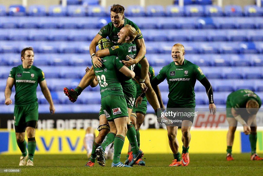 London Irish v Exeter Chiefs - Aviva Premiership : News Photo