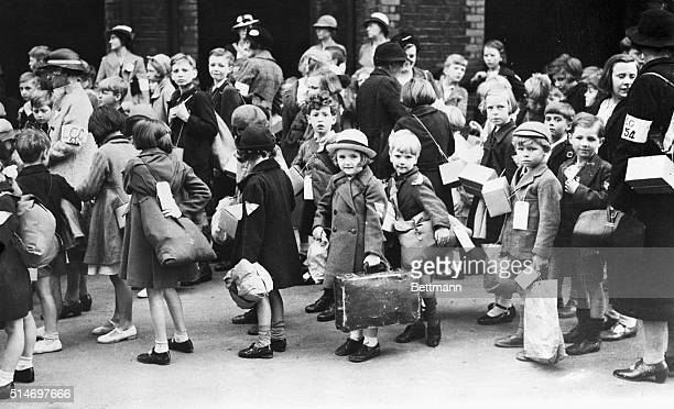 London kids ready for evacuation Chelsea District