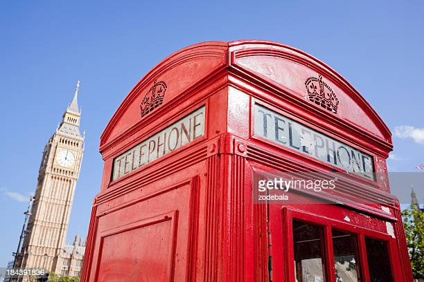 London Landmarks, Red Phone Booth and Big Ben