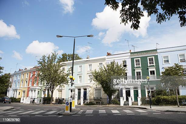 london landscapes - notting hill stock pictures, royalty-free photos & images