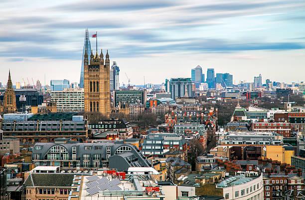 London - Layers Of Architecture Wall Art