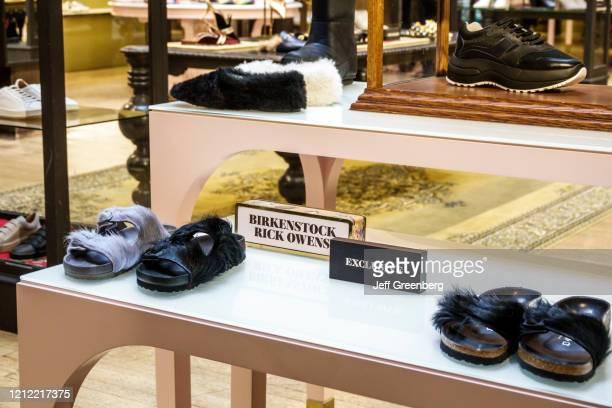 London Liberty Department Store Birenstock Rick Owens sandals