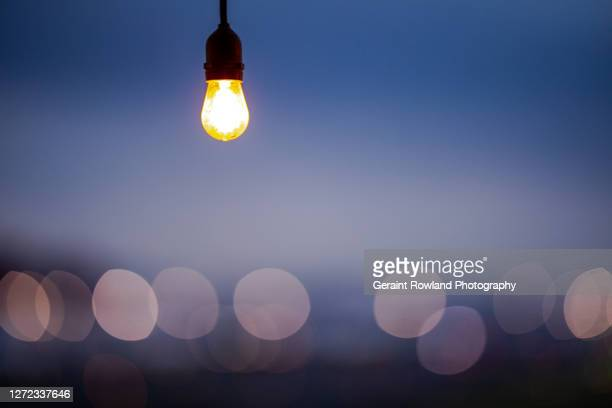 london lightbulb - fashion week stock pictures, royalty-free photos & images