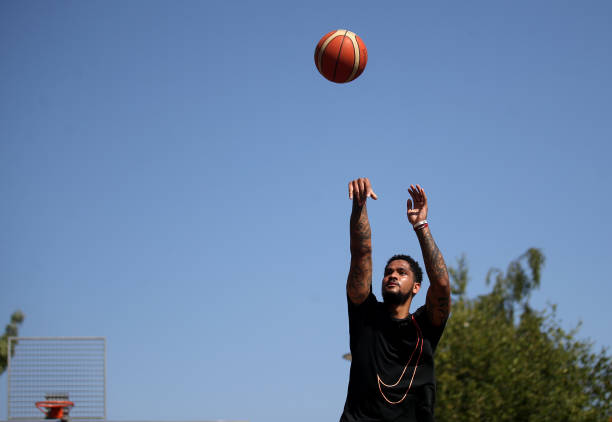 GBR: London Lions Basketball Player Ed Lucas Trains during the Coronavirus Pandemic