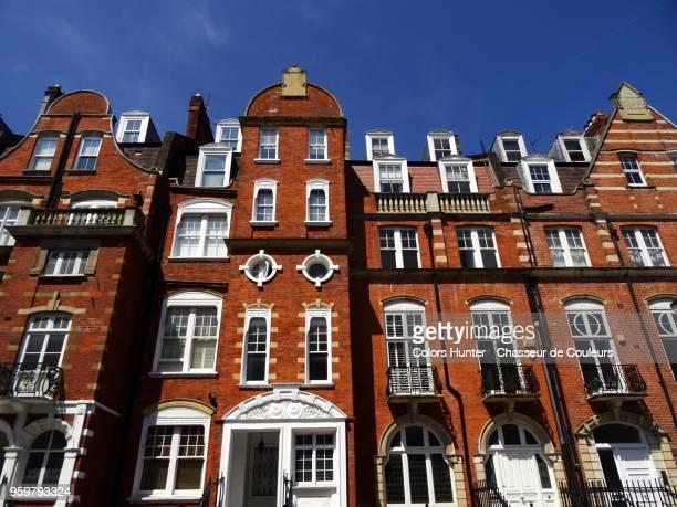 london luxury houses - altbau fassade stock-fotos und bilder