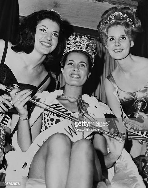 London Lyceum Theatre Catharina Lodders Is Miss World 1962 On 1962 November 8Th