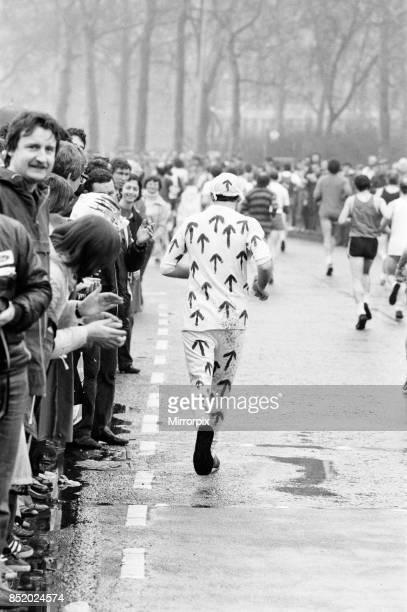 London Marathon 1981, Sponsored by Gillette, Sunday 29th March 1981.