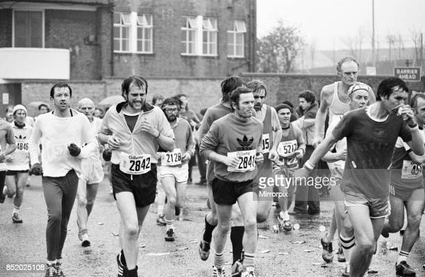 London Marathon 1981 Sponsored by Gillette Sunday 29th March 1981