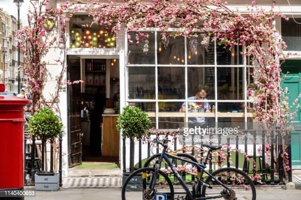 London Marylebone Daisy Green coffee shop and café exterior