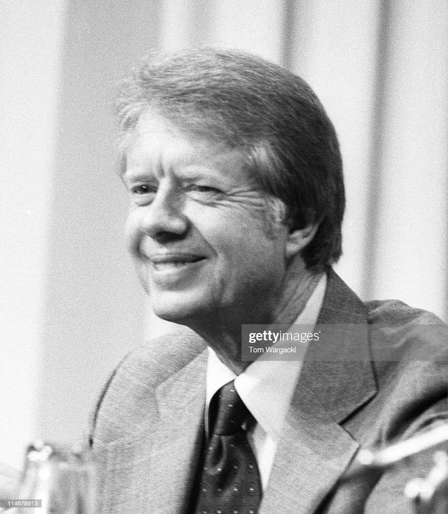 London May 1977. President Jimmy Carter at E.E.C ...