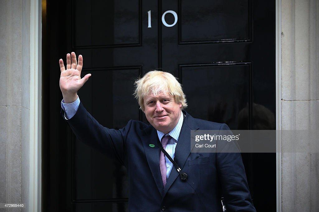 David Cameron Continues His Cabinet Reshuffle : ニュース写真