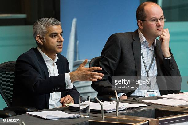 London Mayor Sadiq Khan and David Bellamy Chief of Staff answer questions by the Budget and Performance Committee on a range of issues relating to...