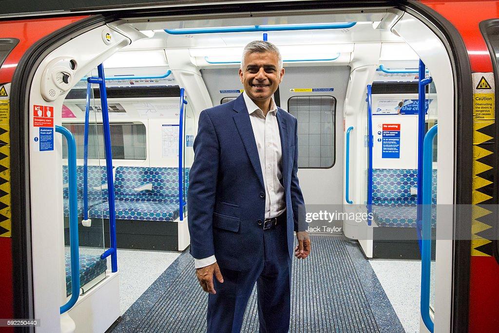 Historic Night For London Underground As Trains Run through The Night