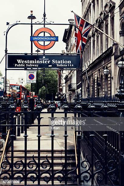 ロンドン地下鉄駅 - シティ・オブ・ウェストミンスター ストックフォトと画像