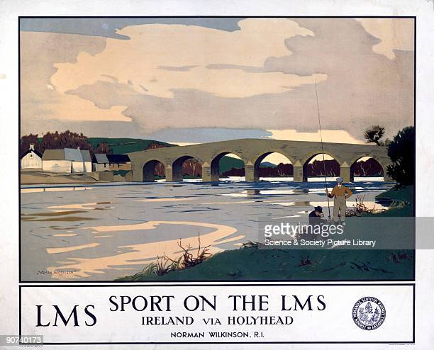London Midland Scottish Railway poster Artwork by Norman Wilkinson