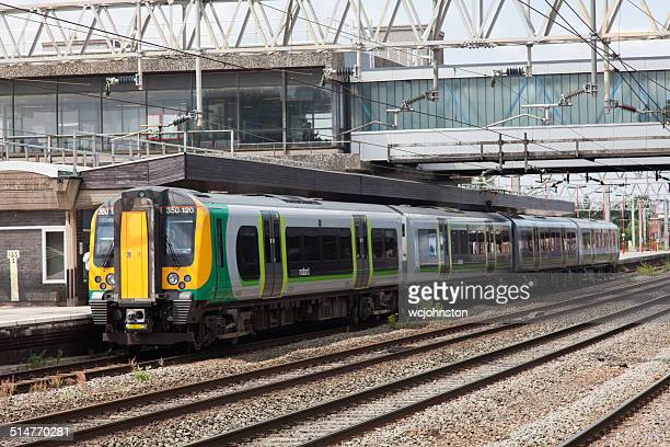 london midland train - midland michigan stock pictures, royalty-free photos & images