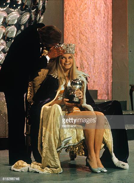 Miss World 1969 who is Eva RueberStaier Miss Austria has crown placed on her head by actor Omar Sharif at final contest here The 20 year old beauty...