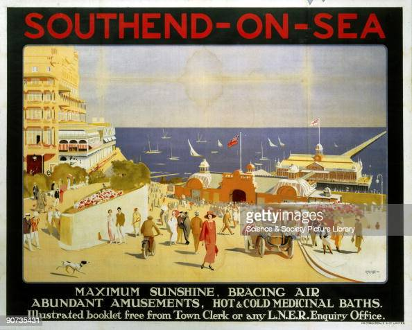 London & North Eastern Railway poster advertising rail ...
