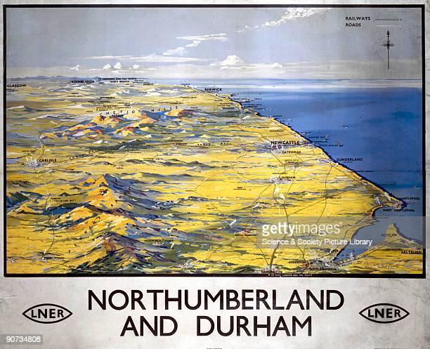 London North Eastern Railway poster Artwork by Montague B Black