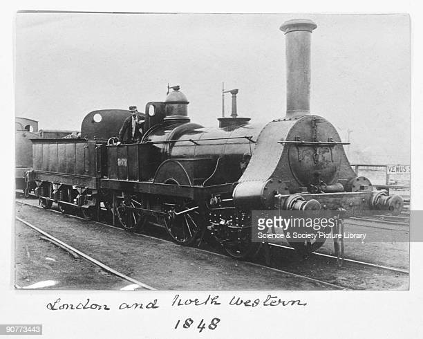 London North Western Railway 240 locomotive number 8052 1848 The London North Western Railway was formed two years earlier in 1846 It operated...