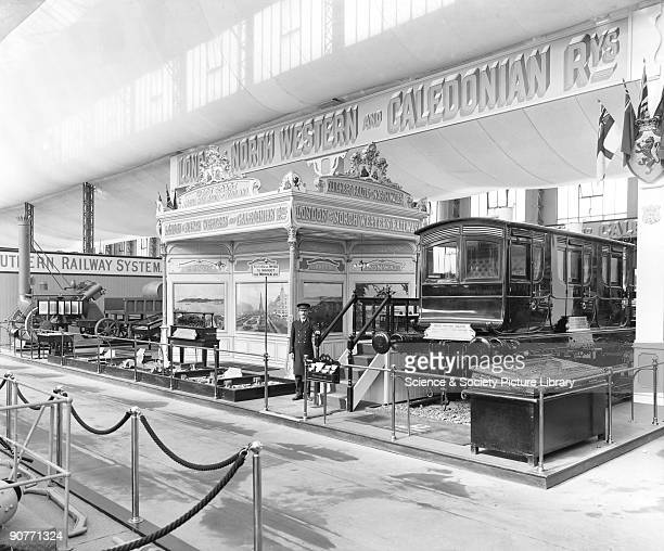 London North Western Railway display at the AngloAmerican exhibition at White City London This exhibition celebrated the industrial achievements of...