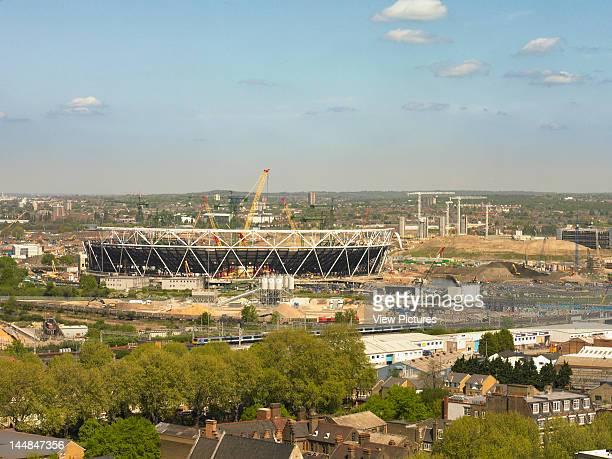 London Olympic StadiumLondon E15 United Kingdom Architect Populous 2012 Olympic Stadium London Populous Architects 2009 General View