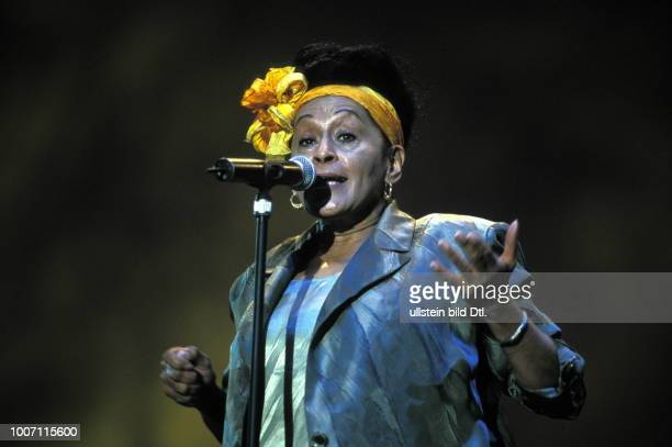 SALSA MUSIC UNITED KINGDOM London Omara Portuondo singer with the Buena Vista Social Club performing More pictures on this subject available on...