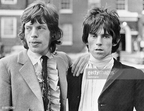 Out on bail pending appeal of conviction and sentence on drug charges The Rolling Stones Mick Jagger and Keith Richards gained the support July 1 of...