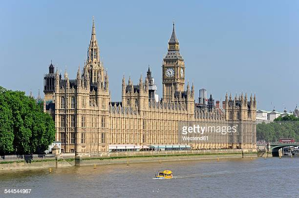 UK, London, Palace of Westminster at the River Thames