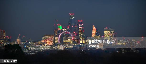 london panorama - richmond upon thames stock pictures, royalty-free photos & images