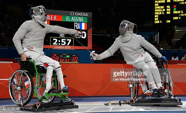 Wheelchair Fencing Men's Sabre Romain Noble GBR vs Moez El Assine FRA