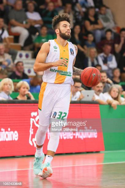 London Perrantes of Limoges during the Eurocup match between Limoges and Alba Berlin at Palais des Sports de Beaublanc on October 17 2018 in Limoges...